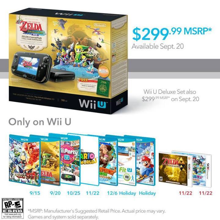 Nintendo Wiiu Zelda Bundle
