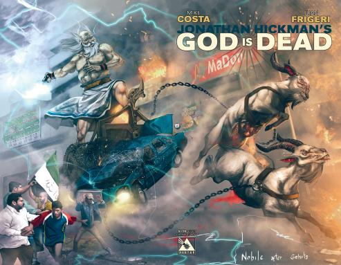 God is Dead #1-8