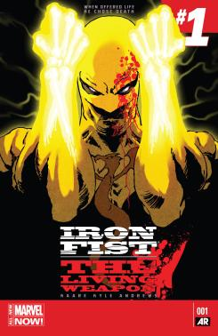Iron Fist: The Living Weapon #1