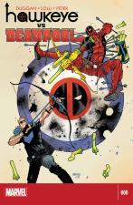 Hawkeye VS Deadpool #0