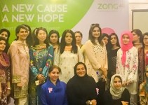 Breast Cancer Drive Awareness Drive at Zong 4G Headquarters