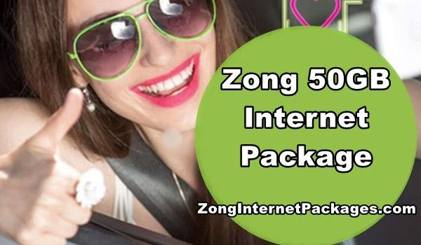 Zong 50GB Package