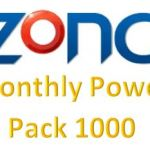 Zong Monthly Power Pack 1000