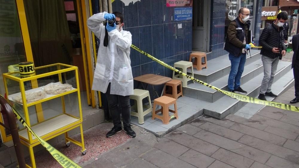 Güvenlik görevlisine silahlı saldırı