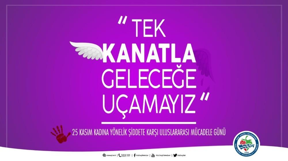 Posbıyık'ın 25 Kasım Kadına Yönelik Şiddete Karşı Mücadele Günü Mesajı