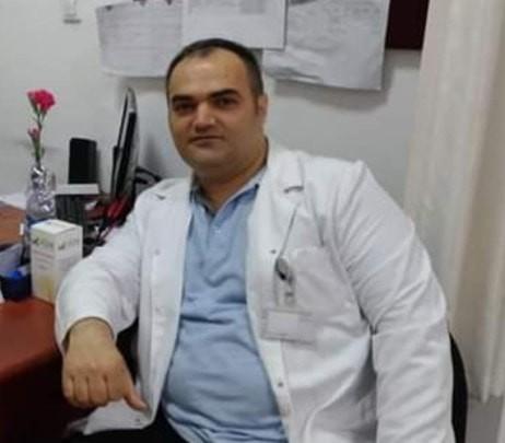 Korona virüsten hayatını kaybeden fizyoterapist için tören düzenlendi