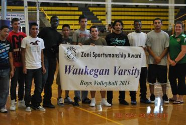 Waukegan Boys win 2011 Sportsmanship Banner