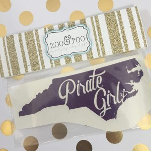 Pirate Girl NC purple decal ECU