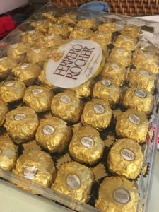 ferrero rocher chocolate candy for golden snitch