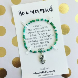 mermaid bracelet by zoo&roo