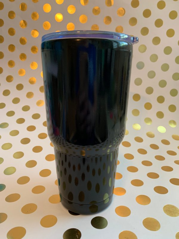 stainless tumbler black