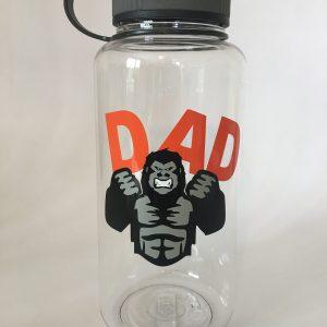 gorilla dad wide mouth bottle