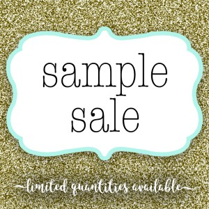 Sample Sale