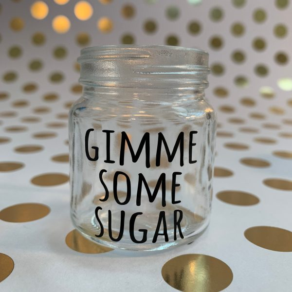 gimme some sugar bless your heart southern sayings mini mason jar shot glass by zoo&roo