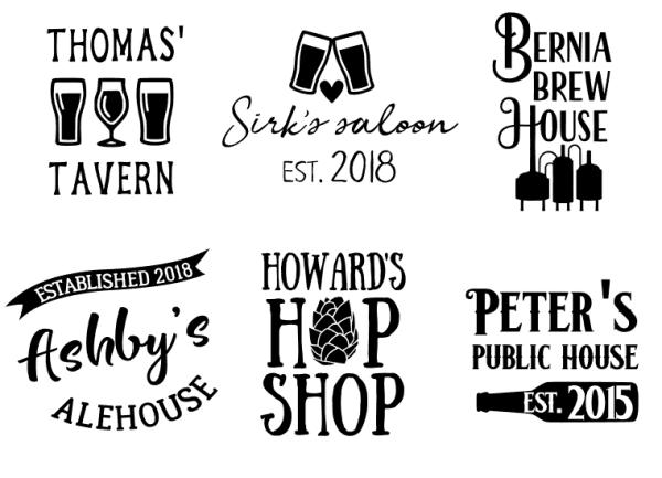 Beer Shop Logos
