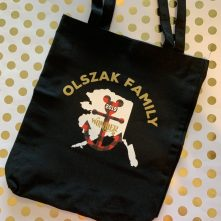 Alaskan Disney Cruise tote bag