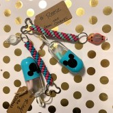 silicone straws and flashlight keychains for Disney cruise