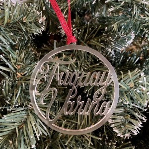 Fuquay Varina acrylic ornament