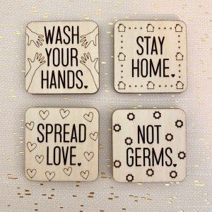 stay safe magnets