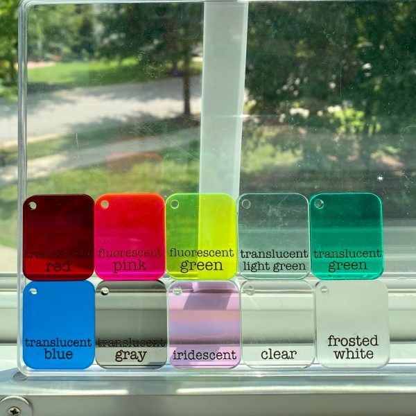 translucent acrylic colors