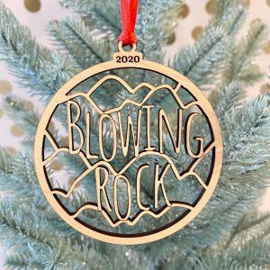 Blowing Rock NC ornament