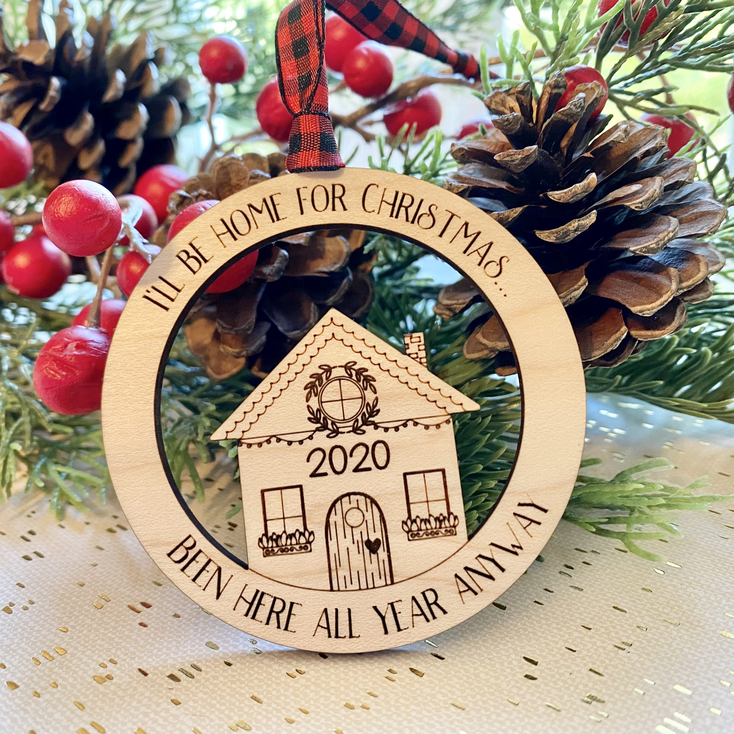 Home For Christmas 2020 ornament