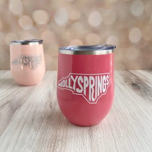 Holly Springs stainless wine tumbler