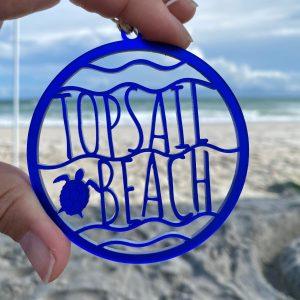 topsail beach ornament