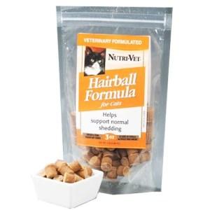Nutri-Vet Hairball Витаминный комплекс для шерсти котов, таблетки