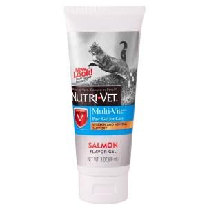 Nutri-Vet Multi-Vite Комплекс витаминов и минералов для кошек, гель, 89 мл