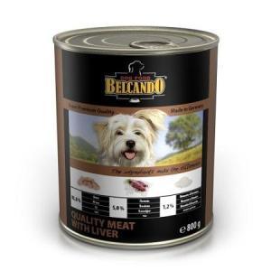 Консервы для собак Belcando Отборное мясо с печенью