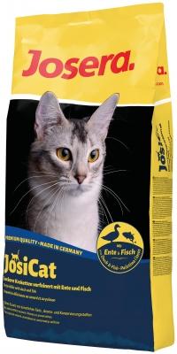 Josera JosiCat Duck & Fish полнорационный корм для взрослых кошек