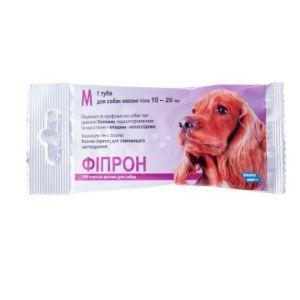 Фипрон спот-он М (100), капли для собак весом 10-20 кг