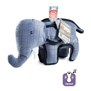 Karlie-Flamingo Strong Elephant КАРЛИ-ФЛАМИНГО СЛОН суперпрочная мягкая игрушка для собак