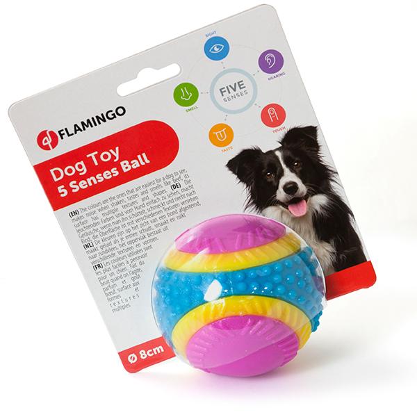 Karlie-Flamingo 5 Senses Ball КАРЛИ-ФЛАМИНГО мяч 5 чувств игрушка для собак
