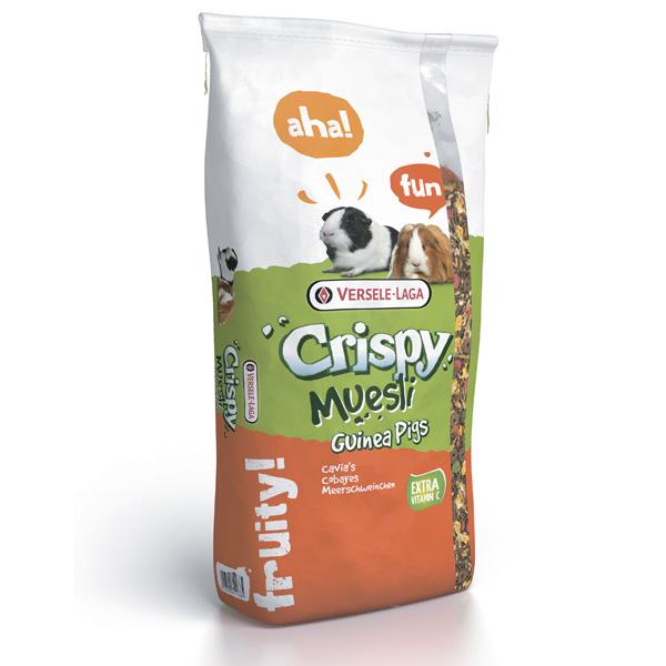 Versele-Laga Crispy Muesli Guinea Pigs ВЕРСЕЛЕ-ЛАГА КРИСПИ МЮСЛИ МОРСКАЯ СВИНКА зерновая смесь корм для морских свинок