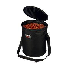 Сумка-контейнер для корма Trixie из нейлона 35 см / d=29 см (чёрная)