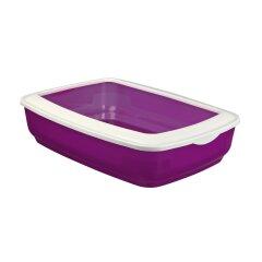 Туалет для кошек Trixie с бортиком «Mio» 32 x 12 x 43 см (пластик, цвета в ассортименте)