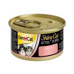 Влажный корм для котят GimCat Shiny Cat 70 г (курица)