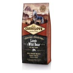 Сухой корм для взрослых собак всех пород Carnilove Lamb & Wild Boar 12 кг (ягненок и кабан)