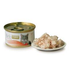 Влажный корм для кошек Brit Care Cat Chicken Breast 80 г (куриная грудка)