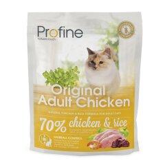 Сухой корм для взрослых кошек Profine Cat Original Adult 300 г (курица)