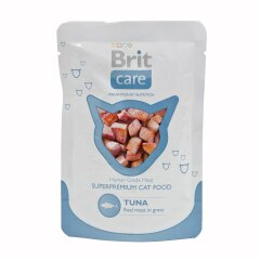 Влажный корм для кошек Brit Care Cat Tuna pouch 80 г (тунец)