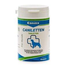 Витаминно-минеральный комплекс для взрослых собак Canina «Caniletten» 150 таблеток, 300 г (витамины и минералы)