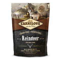 Сухой корм для взрослых собак всех пород Carnilove Raindeer 1,5 кг (оленина и кабан)