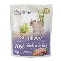 Сухой корм для стерилизованных кошек Profine Cat Sterilised 300 г (курица)