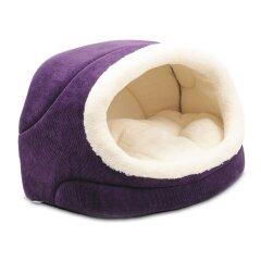 Домик Pet Fashion «Комфорт» 42 см / 28 см / 27 см (фиолетовый)