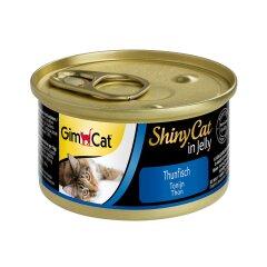 Влажный корм для кошек GimCat Shiny Cat 70 г (тунец)