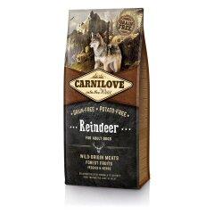 Сухой корм для взрослых собак всех пород Carnilove Raindeer 12 кг (оленина и кабан)