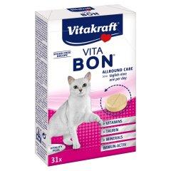 Витамины для кошек Vitakraft «Vita-Bon» 31 таблетка, 55 г (мультивитамин)